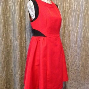 Prabal Gurung for Target red flair dress